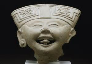 Laughing face Veracruz Classic period