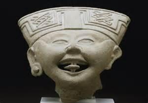 Laughing face Veracruz Classic period