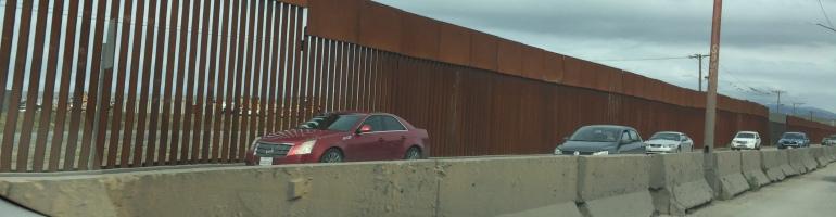 The border at Tijuana